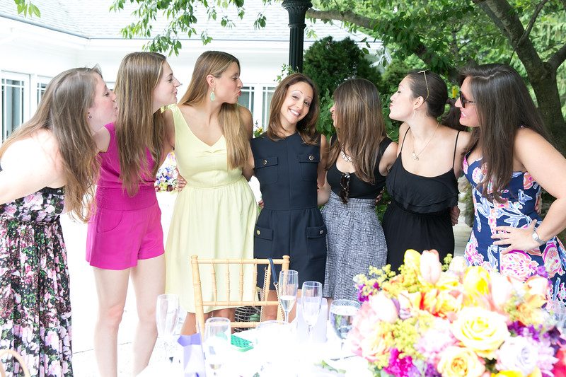 bridal shower party photography nj