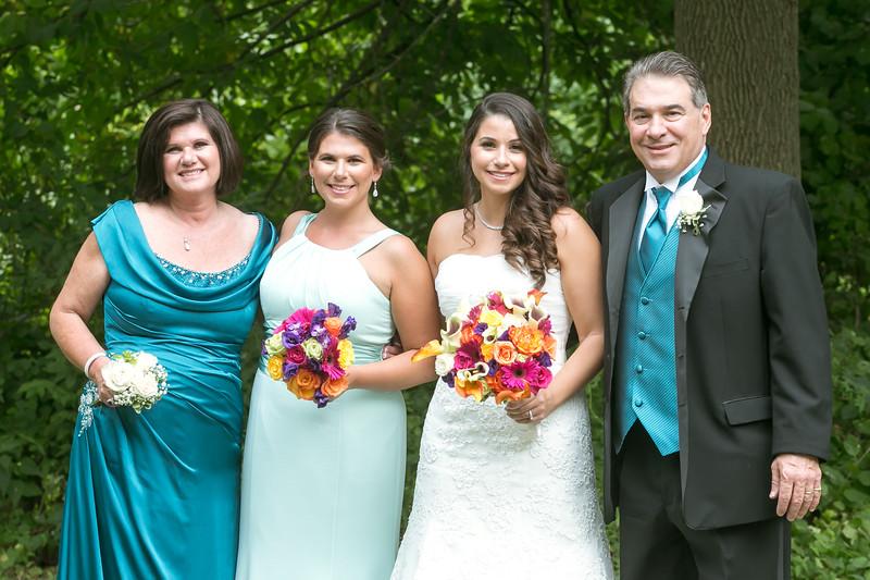 wedding party photos nj
