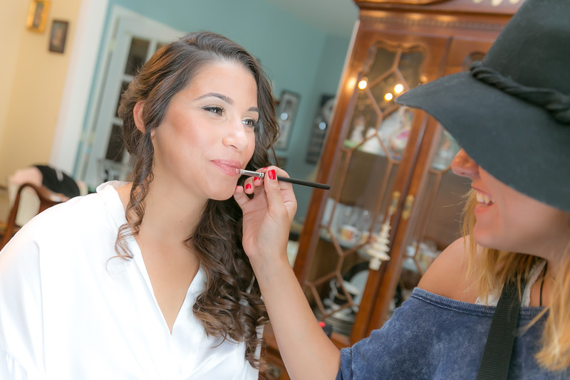 wedding make up artist