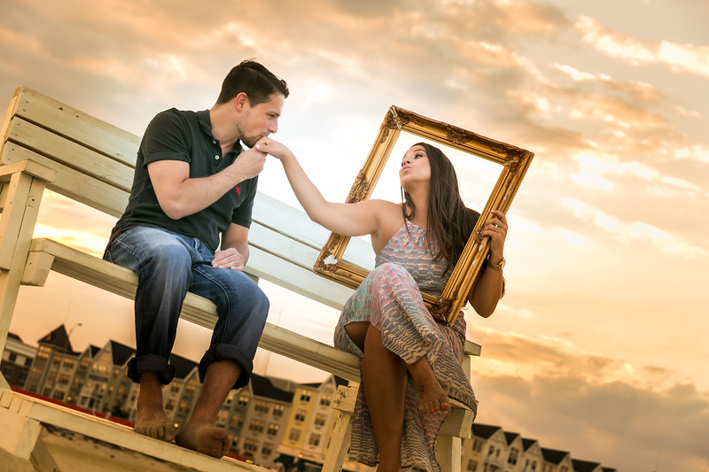 wedding engagement photography long branch nj