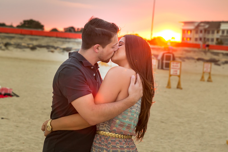 wedding engagement photography beach nj