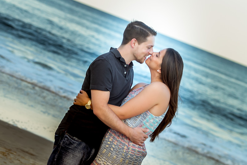 engagement photography beach nj