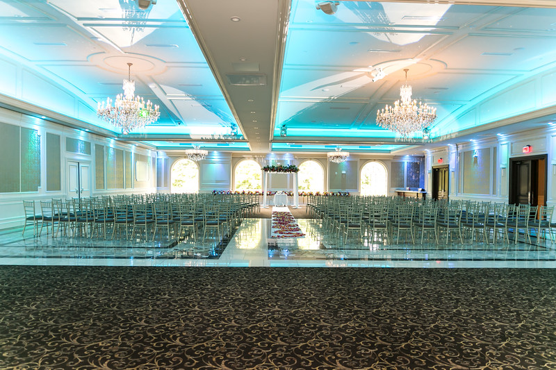Susan + Dan Wedding Ceremony at Biagios Catering Terrace Paramus NJ