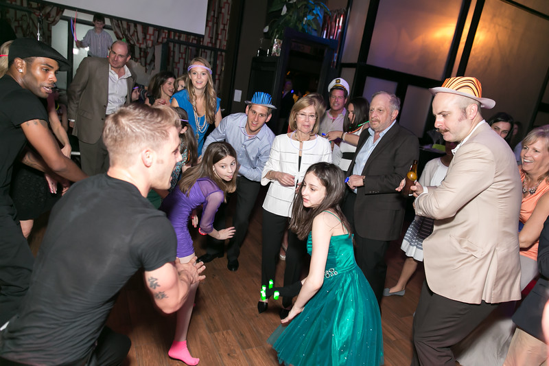 ny bat mitzvah party photography