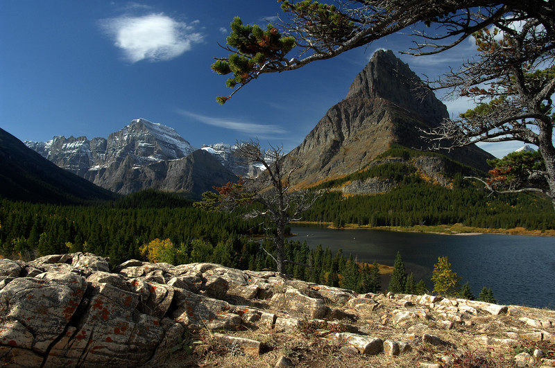 Swiftcurrent Lake by GREAPER