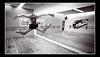 B&W In the Dance Studio by jaharris1001
