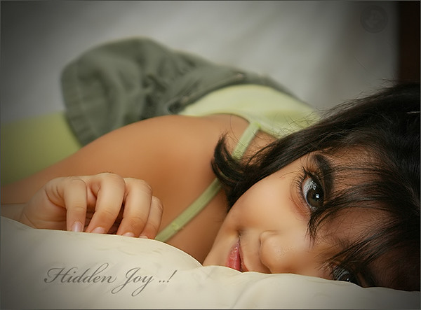 Hidden Joy ..! by Mohammed baqer