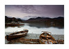 Boats on Derwentwater - Colour by Andy Mott