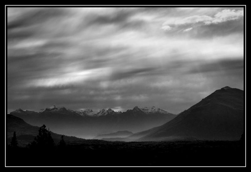 Mountains and Sky by tamara