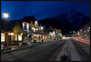 Banff at Night by Nikon_Mario