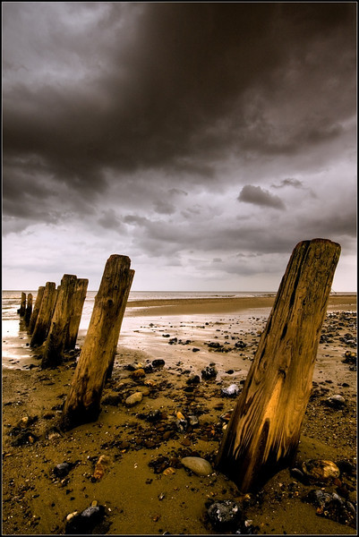 Stormy Day at Mundesley by Oneof42