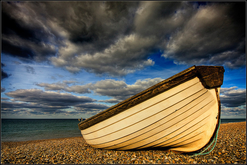 Beached at Weybourne by Oneof42