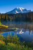 Mount Rainier and Reflection Lakes by the nightfly