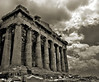 Parthenon (B&W) by Wellbeyond