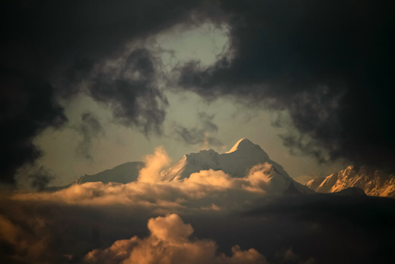 In the Clouds by Soumen