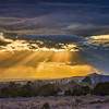 Clearing Storm, Santa Fe by WRon