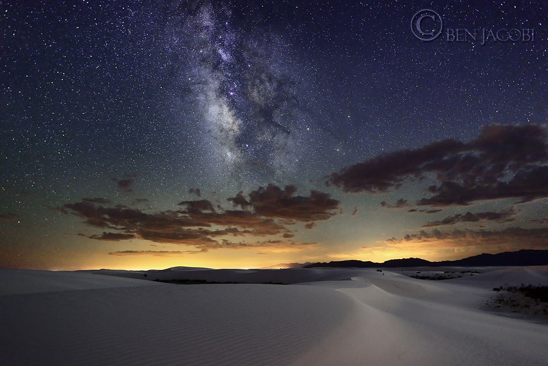 Milkyway at White Sands National Monument.