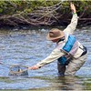 Fly Fishing the Bigwood by Jerrywb