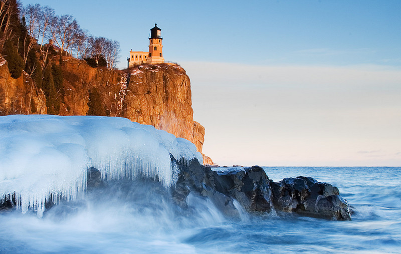 "Round 1, Group VIII Winner Split Rock Lighthouse in the Winter by <a href=""http://www.photographycorner.com/forum/member.php?u=7536"">dbphoto</a>"