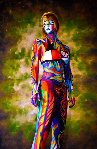 """Body Paint Model Alia by andreasx  <a href=""""http://www.photographycorner.com/forum/showthread.php?t=96303"""">See the Round 1 Voting Results here</a>"""