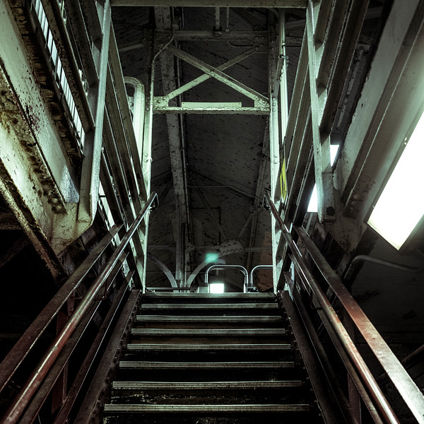 Subway Staircase