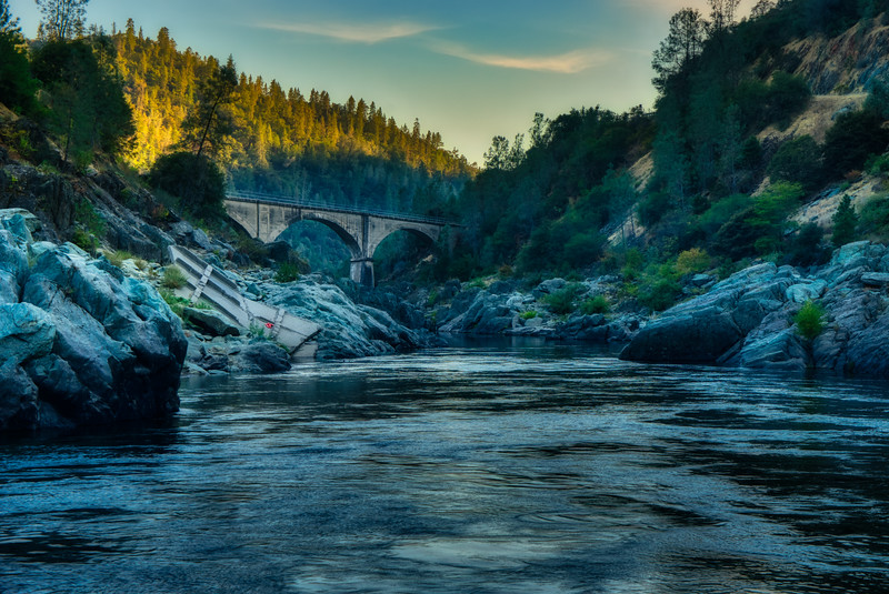 Sunset at the American River Confluence