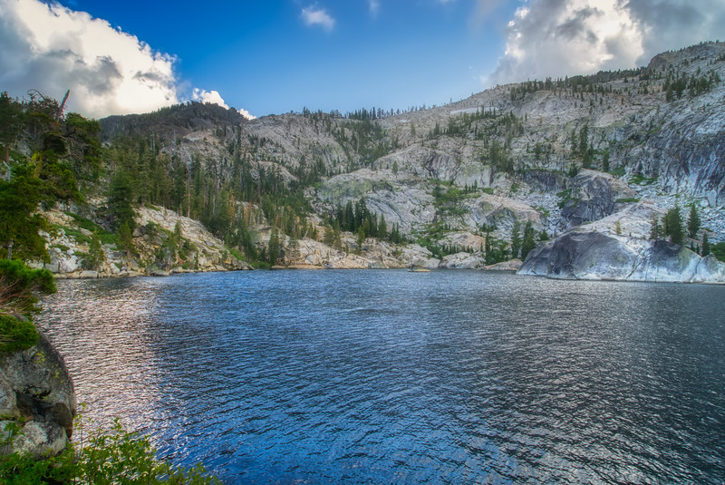 Azure Lake in the afternoon