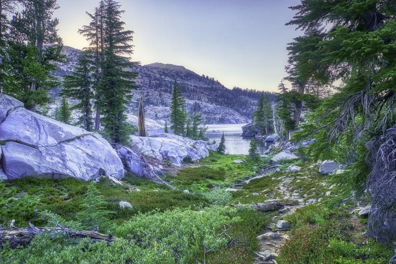Twilight at Fontanilis Lake