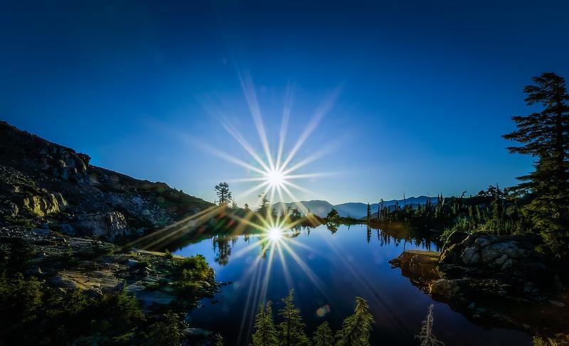 Jabu Lake at Sunrise