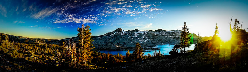 The Best View in Desolation Wilderness