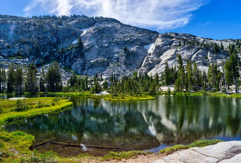 A beautiful pond below Dick's Lake