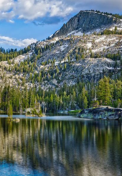 Crag Lake- Vertical