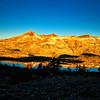 The Crystal Range basking in the rising sun