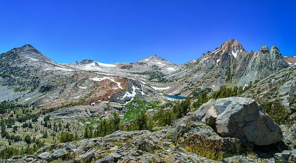 Return Lake and Virginia Peak