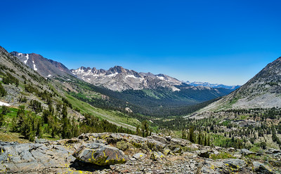 Virginia Canyon and the Shepherd Crest