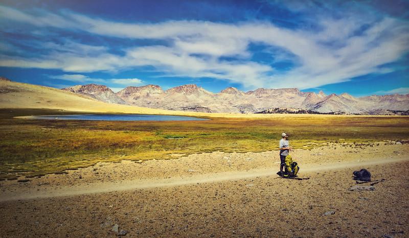 Danny Chillin at Bighorn Plateau