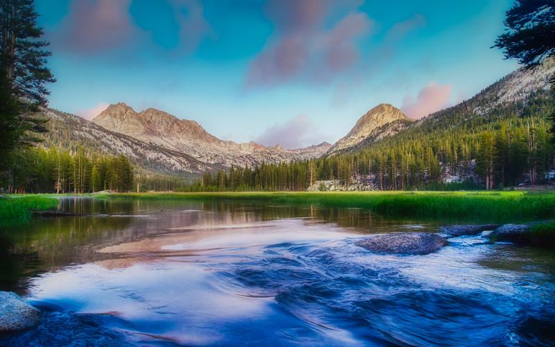 Evolution Creek and Evolution Valley