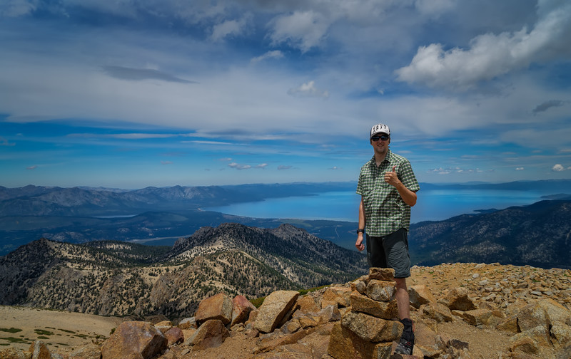 Me on Freel Peak