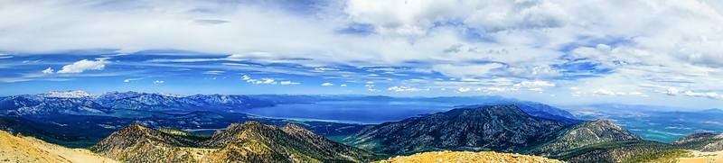 Panoramic from Freel Peak