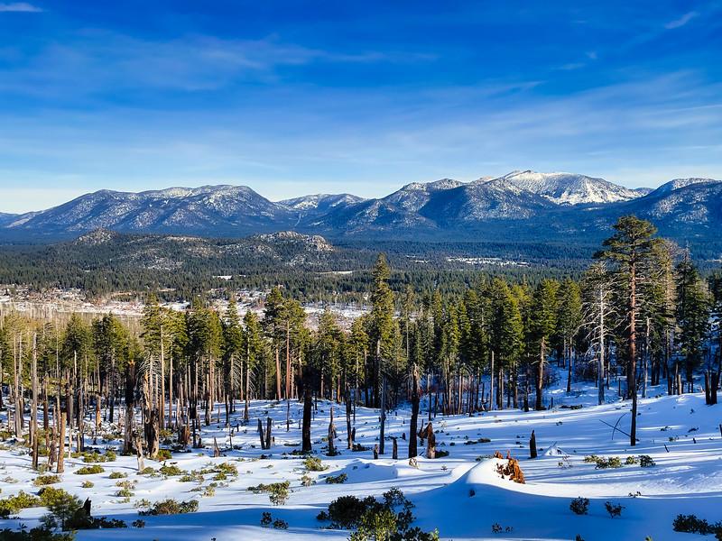 Heavenly Ski Resort, Freek Peak, and South Lake Tahoe