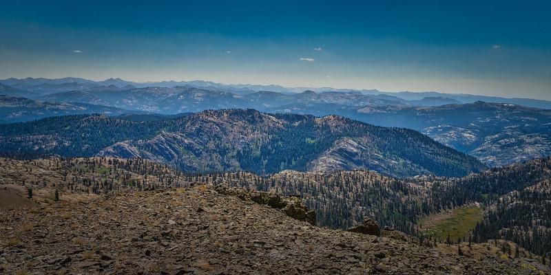 Looking south from Deadwood Peak