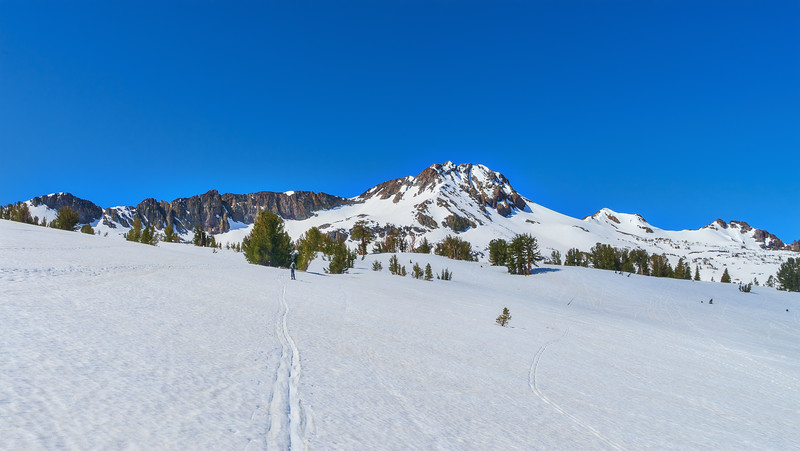 Skinning out towards Winnemucca Lake