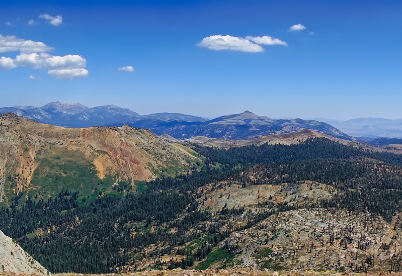 Panorama from Deadwood Peak Part 1