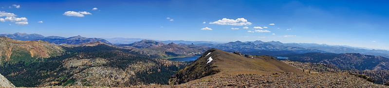 Panorama from Deadwood Peak