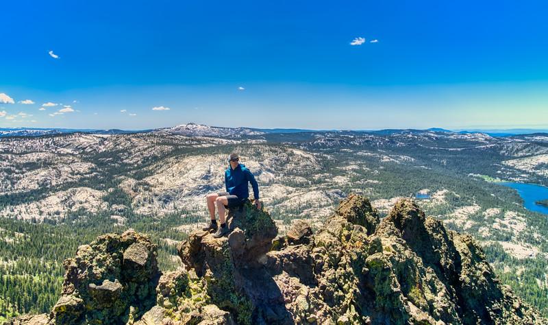 Me on top of Thunder Mountain