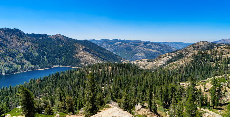 Meadow Lake and Mokelumne Canyon