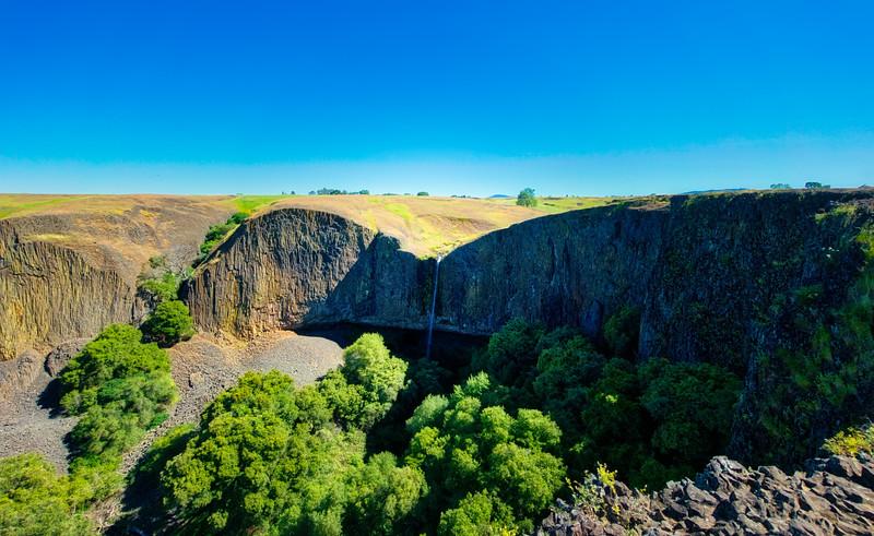 Phantom Falls and Coal Canyon
