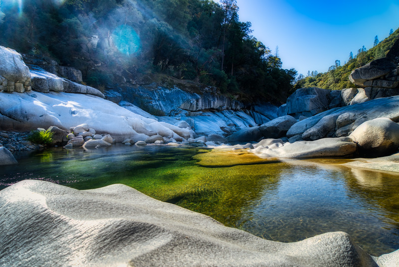 The South Fork of the Yuba River near Hoyt Crossing