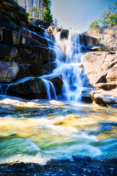 Upper Canyon Creek Falls