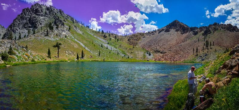 Deer Lake and Deer Pass